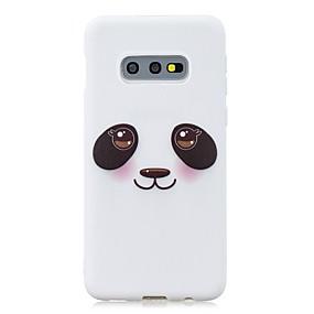 voordelige Galaxy S7 Edge Hoesjes / covers-hoesje Voor Samsung Galaxy S9 / S9 Plus / S8 Plus Ultradun / Patroon Achterkant dier / Cartoon / Panda TPU
