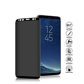 abordables Galaxy S Protections d'écran-Film de pliage 3d anti-espion en verre trempé anti-espion en verre trempé protecteur d'écran pour samsung s9 / s9 plus / s8 / s8 plus