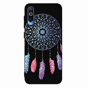 voordelige Galaxy A5(2017) Hoesjes / covers-hoesje Voor Samsung Galaxy S9 / S9 Plus / S8 Plus Mat / Patroon Achterkant Veren TPU