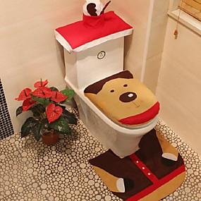 رخيصةأون أدوات الحمام-معقد التواليت محبوب كرتون / موضة محبوكة 1SET اكسسوارات المرحاض