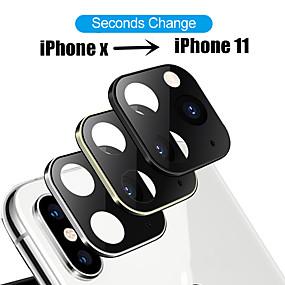 povoljno Apple-modificirane metalne naljepnice objektiv kamere u sekundi mijenjaju poklopac za iphone x xs max lažna kamera za iphone 11 pro max zaštitni staklo