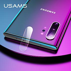 olcso Galaxy Note Képernyővédő fóliák-SamsungScreen ProtectorGalaxy Note 10 Tükör Kamera lencsevédő 1 db Edzett üveg
