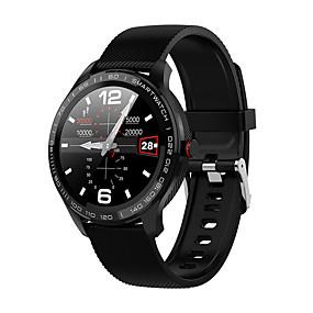 cheap Smart Watches-L9 Men Smart Watch IP68 Waterproof ECG Heart Rate Blood Pressure Monitor Full Touch Screen Clock for Xiaomi Huawei Phone