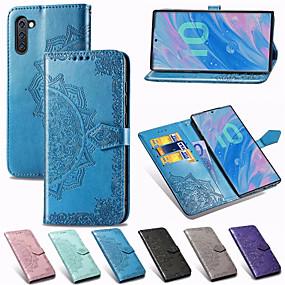 Недорогие Чехлы и кейсы для Galaxy Note 8-Мандала тисненый кожаный бумажник флип телефон чехол для Samsung Galaxy Note 10 плюс примечание 9 примечание 8 держатель карты стенд чехол