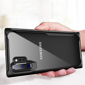 Недорогие Чехлы и кейсы для Galaxy Note 8-противоударный бронированный чехол для Samsung Galaxy Note 10 Plus прозрачный чехол для ПК Note 8 Note 8 силиконовые мягкие края ТПУ