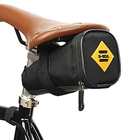 رخيصةأون ركوب الدراجات وإكسسوارات الدراجة-0.8 L حقيبة السراج للدراجة المحمول يمكن ارتداؤها مضاعف حقيبة الدراجة 300D بوليستر حقيبة الدراجة حقيبة الدراجة أخضر الدراجة