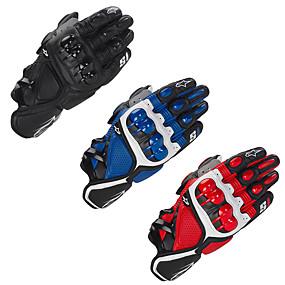 billige Motorsykkelhansker-motorsykkelhansker - harde knokehansker med antiskid grep - menn / kvinner motorsykkelhansker pustende