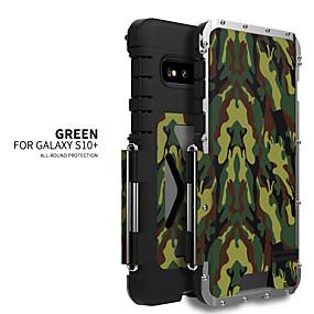 olcso Galaxy S9 tokok-Case Kompatibilitás Samsung Galaxy S9 / S9 Plus / S8 Plus Ütésálló Fekete tok Egyszínű Rozsdamentes acél
