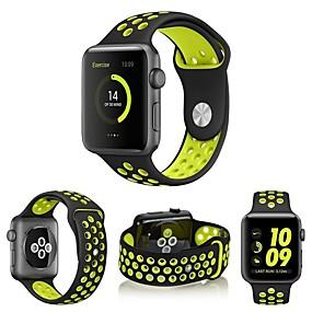 abordables Compra por modelo de teléfono-Ver Banda para Apple Watch Series 5/4/3/2/1 Apple Correa Deportiva Silicona Correa de Muñeca