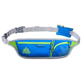 olcso Kempingezés & hátizsákos utazás-Övtáska Vízálló Csúszásgátló Viselhető YKK Zipper Külső Futás Jégkorcsolyázás Downhill Műanyag Fekete Fukszia Narancssárga