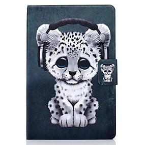 """povoljno iPad Pro 10.5"""" maske-Θήκη Za Apple iPad Air / iPad 4/3/2 / iPad (2018) Utor za kartice / sa stalkom / Uzorak Korice Životinja PU koža / TPU"""