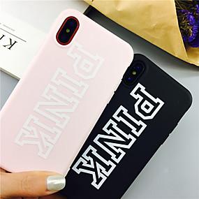 voordelige iPhone 11 Pro Max hoesjes-woord / zin tpu case voor Apple iPhone 11 pro max 8 plus 7 plus 6 plus max patroon achterkant