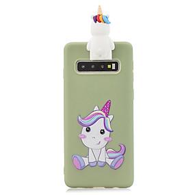 Недорогие Чехлы и кейсы для Galaxy Note 8-Кейс для Назначение SSamsung Galaxy S9 / S9 Plus / S8 Plus Матовое Кейс на заднюю панель Однотонный ТПУ