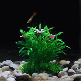 olcso Akvárium Melegítők és hőmérők-YEE M030 Soft Simulation Big Waterweeds Decoration for Fish Tank Aquarium