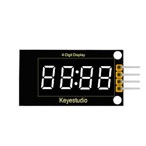 cheap New Arrivals-keyestudio 4-Digit LED Display Module  (Black And Eco-Friendly)
