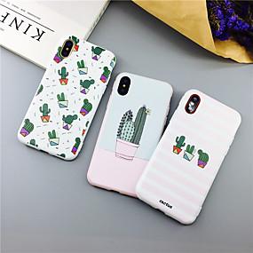 voordelige iPhone 11 Pro Max hoesjes-cactus plant tpu case voor apple iphone 11 pro max 8 plus 7 plus 6 plus max patroon achterkant