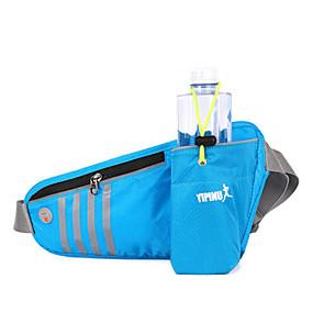 olcso Kempingezés & hátizsákos utazás-Övtáska Vízálló Csúszásgátló Viselhető YKK Zipper Külső Futás Jégkorcsolyázás Downhill Műanyag Fekete Ibolya Zöld