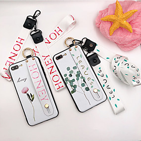 voordelige iPhone 11 Pro Max hoesjes-11pro apple x mobiele telefoon shell 7 met lanyard xr bloemen p sling 8 plus siliconen xs max hangende nek 6s pols 6 polsband beugel
