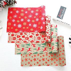 رخيصةأون شرشفات الطاولة-29x270 سنتيمتر عيد الميلاد سماط سانتا كلوز ديكور المنزل راية سماط