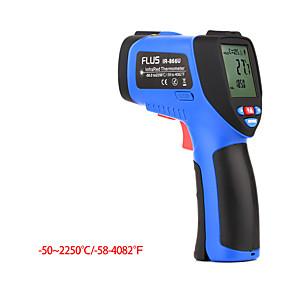 رخيصةأون آلات الحرارة-ir-866u-502250digital ليزر الأشعة تحت الحمراء المحمولة عدم الاتصال المحمولة ميزان الحرارة الالكترونية في الهواء الطلق