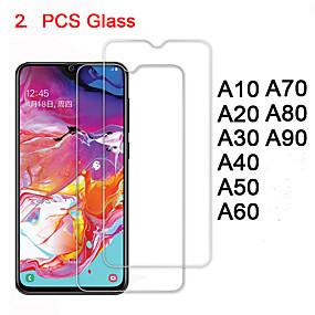 Недорогие Защитные плёнки для экранов Samsung-закаленное стекло для samsung a70 a60 a50 a40 a30 a20 a10 защитное стекло защитная пленка безопасности на галактике a80 a90