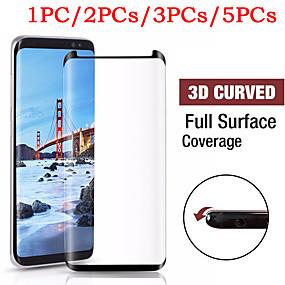 Недорогие Чехлы и кейсы для Galaxy S-Samsung Galaxy S9 S8 HD 3D протектор экрана из закаленного стекла