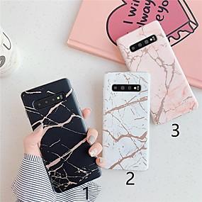 Недорогие Чехлы и кейсы для Galaxy Note 8-Кейс для Назначение SSamsung Galaxy S9 / S9 Plus / S8 Plus С узором Кейс на заднюю панель Мрамор ТПУ