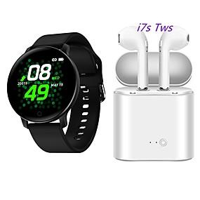 رخيصةأون الأساور الذكية-x9 smartwatch مع سماعات الرأس اللاسلكية tws المجانية bt اللياقة البدنية تعقب دعم إخطار / رصد معدل ضربات القلب للهواتف سامسونج / فون / الروبوت