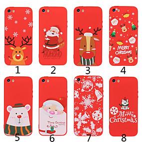 voordelige iPhone 11 Pro Max hoesjes-hoesje Voor Apple iPhone 11 / iPhone 11 Pro / iPhone 11 Pro Max Mat / Patroon Achterkant Kerstmis TPU
