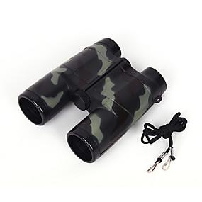 olcso Távcsövek-4 X 35 mm Távcsövek Tükrök Ütésvédelem Ütésálló Kézi Eltitkolás BAK4 Hétköznapi Teljesítmény Szabadtéri ABS + PC