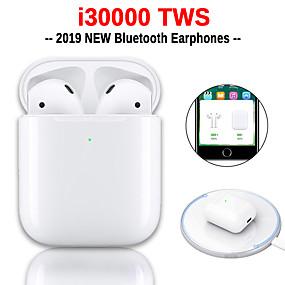 povoljno Oprema za PC i tablet-originalne i30000 tws prave bežične slušalice iskoči s ios pametnim upravljanjem osjetljivim na dodir, bežično bluetooth 5.0 stereo slušalice s kućištem za punjenje