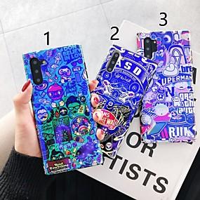 Недорогие Чехлы и кейсы для Galaxy Note 8-Кейс для Назначение SSamsung Galaxy S9 / S9 Plus / S8 Plus С узором Кейс на заднюю панель Слова / выражения пластик