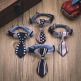 Недорогие Бижутерия и аксессуары для собак-lureme многоцветная галстук-бабочка для домашних животных собак (случайный цвет)