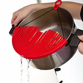 رخيصةأون أدوات & أجهزة المطبخ-وعاء المطبخ عموم تجفيف المطبخ أفضل مصفاة المحمولة أداة للتوسيع مصفاة تصفية المياه كوك الطبخ