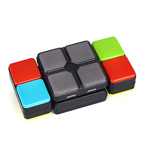 رخيصةأون ألعاب تعليمية-المكعب السحري الذكاء مكعب z-cube 2*2 السلس مكعب سرعة لعبة كتلة السحر سباق مكعب المجلس لغز مكعب مزدوج للأطفال بالغين ألعاب الجميع هدية
