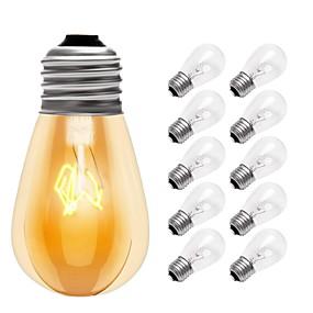 Χαμηλού Κόστους Λαμπτήρες πυράκτωσης-10pcs 15 W E26 / E27 Θερμό Λευκό 2700 k Λαμπτήρας πυρακτώσεως Vintage Edison 220-240 V / 110-130 V