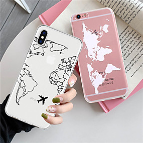 voordelige iPhone 11 Pro hoesjes-hoesje Voor Apple iPhone 11 / iPhone 11 Pro / iPhone 11 Pro Max Patroon Achterkant Transparant / Landschap TPU