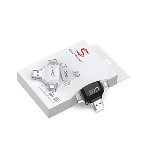 olcso Számítógépes periferiális egységek-LITBest R012 USB 2.0 to Micro USB 2.0 / Micro USB Type A / SD-kártya / TF kártya / Villám USB Hub 3 Portok