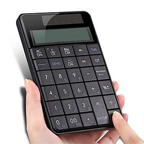 olcso Egér & Billentyűzetek-vezeték nélküli 2,4 g-os usb numerikus billentyűzet képernyő-számológéppel
