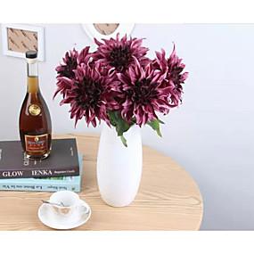 olcso Művirágok-művirágok 6 ágú klasszikus modern kortárs egyszerű stílusú hortenzia