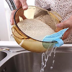 رخيصةأون أدوات & أجهزة المطبخ-المطبخ الابتسامة كليب على البلاستيك الحبوب الأرز غسل أجهزة تصفية استنزاف سدادة لون عشوائي