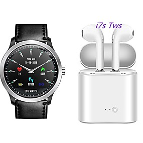 cheap Smart Wristbands-N58 Smartwatch BT Fitness Tracker Support ECG PPG HRV/ Heart Rate Blood Pressure with Free Wireless TWS Headphone