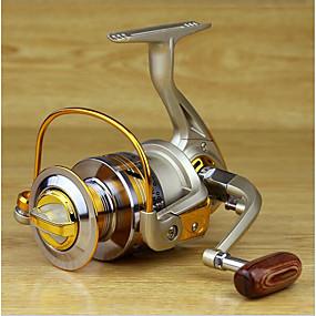 levne Fishing & Hunting-Rybaření Reel ložiska Smékací navíjáky 5.2:1 Převodový poměr+10 Kuličková ložiska Ruční Orientace Vyměnitelný Mořský rybolov / Rybaření ve sladkých vodách / Rybaření na háček - MK4000