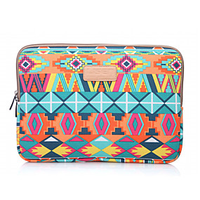 cheap New Arrivals-LiSEN 13.3 Inch Laptop / 14 Inch Laptop / 15.6 Inch Laptop Sleeve Canvas Bohemian Style / Geometic for Men for Women Unisex Water Proof Shock Proof