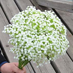 Χαμηλού Κόστους Τεχνητά λουλούδια-Ψεύτικα λουλούδια 1 Κλαδί Κλασσικό Μοντέρνα Αιώνια Λουλούδια Λουλούδι Τοίχου