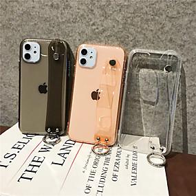 voordelige iPhone 11 Pro Max hoesjes-hoesje Voor Apple iPhone 11 / iPhone 11 Pro / iPhone 11 Pro Max Transparant Achterkant Effen TPU