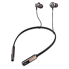 Χαμηλού Κόστους Ακουστικά για άθληση-LITBest Y7 Ακουστικά με λαιμό Ασύρματη Αθλητισμός & Fitness Bluetooth 4.2 Στέρεο Διπλοί οδηγοί Με Μικρόφωνο