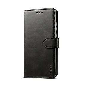 Недорогие Чехлы и кейсы для Galaxy Note 8-Кейс для Назначение SSamsung Galaxy S9 / S9 Plus / S8 Plus Бумажник для карт / Магнитный / Авто Режим сна / Пробуждение Чехол Однотонный Кожа PU