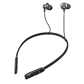 Χαμηλού Κόστους Ακουστικά για άθληση-LITBest Y17 Ακουστικά με λαιμό Ασύρματη Αθλητισμός & Fitness Bluetooth 5.0 Στέρεο Διπλοί οδηγοί Με Μικρόφωνο