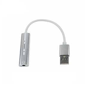 olcso Számítógépes periferiális egységek-LITBest ZT-S515 USB 3.0 to 3,5 mm-es audio jack USB Hub 1 Portok